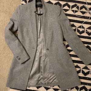 Gorgeous Zara Basic Collection Lambswool Coat